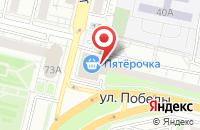 Схема проезда до компании 220 Вольт в Белгороде