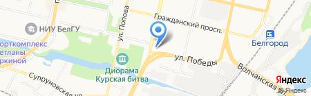 Торгово-сервисная фирма на карте Белгорода