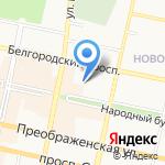 Лицей №9 на карте Белгорода