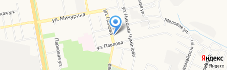 Региональная служба доставки на карте Белгорода