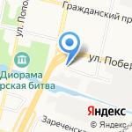 Кварт на карте Белгорода