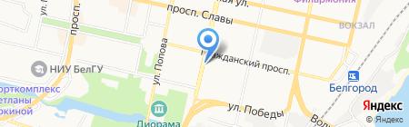 Высота 31 на карте Белгорода