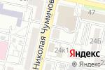 Схема проезда до компании Высота 31 в Белгороде