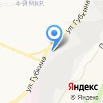 АВА на карте Белгорода