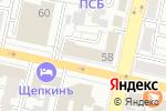 Схема проезда до компании Детская стоматологическая поликлиника в Белгороде