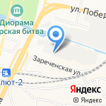 Vipmotors31 на карте Белгорода