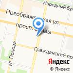 Управление Судебного департамента в Белгородской области на карте Белгорода