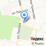 Первая городская баня на карте Белгорода