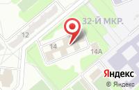 Схема проезда до компании Технострой-М в Обнинске