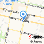 Управление Белгорблагоустройство на карте Белгорода