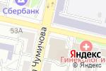 Схема проезда до компании Белгородский областной суд в Белгороде