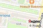 Схема проезда до компании 100% в Белгороде