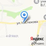 Мегафон на карте Белгорода