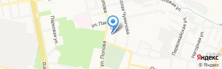 Поисково-Спасательная Служба на карте Белгорода