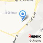 Спринт на карте Белгорода