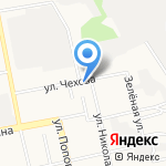 Библиотека №1 на карте Белгорода