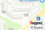 Схема проезда до компании Проф Алюмин в Белгороде