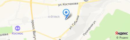 Детский сад №66 на карте Белгорода