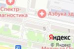 Схема проезда до компании МобиКомСервис в Белгороде