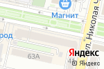 Схема проезда до компании Мир окон в Белгороде