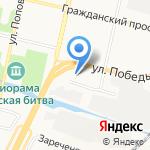 Хмельной двор на карте Белгорода