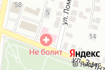 Схема проезда до компании Не болит в Белгороде