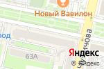 Схема проезда до компании Бренд в Белгороде