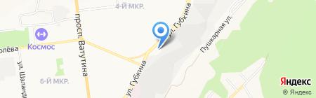 АЗС Роснефть на карте Белгорода