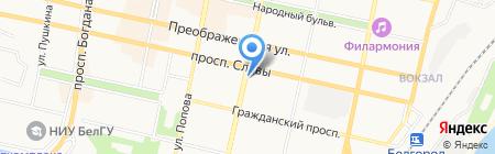 Участковый пункт полиции №24 на карте Белгорода