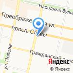HTF на карте Белгорода