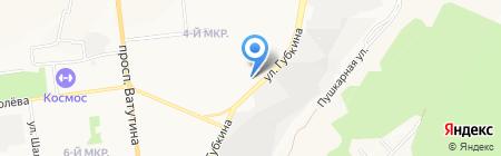 Проф Алюмин на карте Белгорода