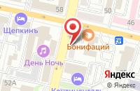 Схема проезда до компании HTF в Белгороде