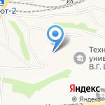 Fashion Studio Камиллы Олейниковой на карте Белгорода