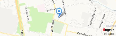 Участковый пункт полиции №21 на карте Белгорода