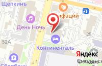 Схема проезда до компании Континенталь в Белгороде
