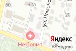 Схема проезда до компании Память в Белгороде