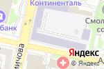 Схема проезда до компании Белгородский строительный колледж в Белгороде
