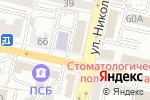 Схема проезда до компании Белгородэнергосбыт в Белгороде