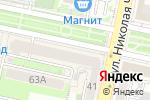 Схема проезда до компании Защита в Белгороде