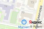 Схема проезда до компании FONAR.TV в Белгороде