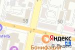 Схема проезда до компании Белфарт в Белгороде