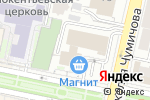 Схема проезда до компании Фотосервис в Белгороде