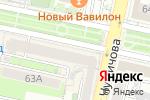 Схема проезда до компании New York Time Cafe в Белгороде
