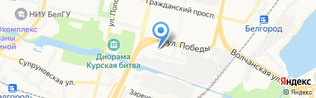 ALTER EGO на карте Белгорода