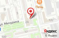 Схема проезда до компании СПМ-Технология в Белгороде