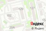 Схема проезда до компании Квартира 31 в Белгороде