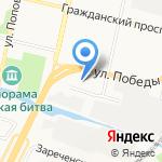Арарат на карте Белгорода