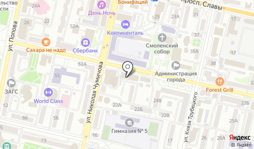 Tour Pay. Схема проезда в Белгороде