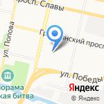 Гимназия №5 на карте Белгорода