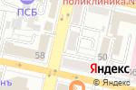 Схема проезда до компании Anex shop в Белгороде